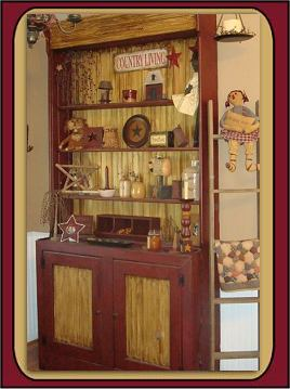 primitive wood furniture patterns