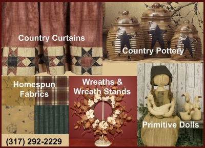 Gone Country Crafters - primitives, country candles, craft patterns